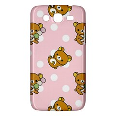 Kawaii Bear Pattern Samsung Galaxy Mega 5 8 I9152 Hardshell Case