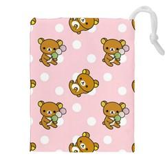 Kawaii Bear Pattern Drawstring Pouches (xxl)