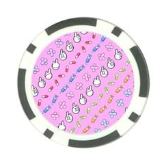 Chaffyyami Nurse Desktop Poker Chip Card Guard (10 Pack)