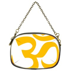 Aum Om Gold Chain Purses (one Side)