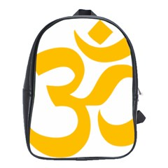 Aum Om Gold School Bags (XL)