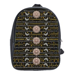 Pearls And Hearts Of Love In Harmony School Bags(large)