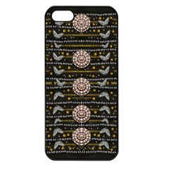 Pearls And Hearts Of Love In Harmony Apple Iphone 5 Seamless Case (black)