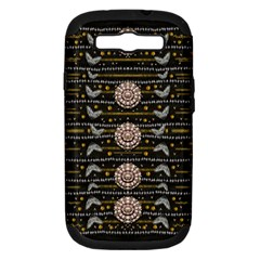 Pearls And Hearts Of Love In Harmony Samsung Galaxy S III Hardshell Case (PC+Silicone)