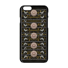 Pearls And Hearts Of Love In Harmony Apple Iphone 6/6s Black Enamel Case