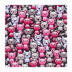 Cute Doodle Wallpaper Cute Kawaii Doodle Cats Medium Glasses Cloth