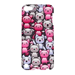 Cute Doodle Wallpaper Cute Kawaii Doodle Cats Apple iPod Touch 5 Hardshell Case