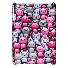 Cute Doodle Wallpaper Cute Kawaii Doodle Cats Apple Ipad Mini Hardshell Case