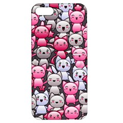 Cute Doodle Wallpaper Cute Kawaii Doodle Cats Apple Iphone 5 Hardshell Case With Stand