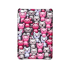 Cute Doodle Wallpaper Cute Kawaii Doodle Cats Ipad Mini 2 Hardshell Cases