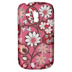 Pink Flower Pattern Galaxy S3 Mini