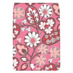 Pink Flower Pattern Flap Covers (s)