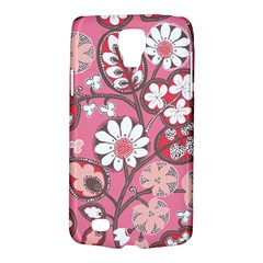 Pink Flower Pattern Galaxy S4 Active