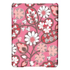 Pink Flower Pattern Ipad Air Hardshell Cases