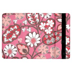 Pink Flower Pattern Ipad Air Flip