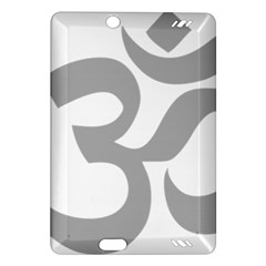 Hindu Om Symbol (Light Gray) Amazon Kindle Fire HD (2013) Hardshell Case