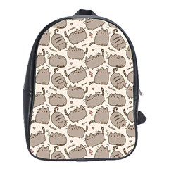 Pusheen Wallpaper Computer Everyday Cute Pusheen School Bags(large)