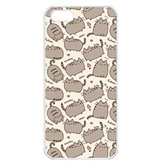 Pusheen Wallpaper Computer Everyday Cute Pusheen Apple iPhone 5 Seamless Case (White)