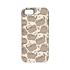 Pusheen Wallpaper Computer Everyday Cute Pusheen Apple Iphone 5 Classic Hardshell Case (pc+silicone)