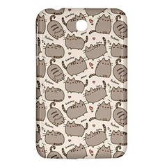 Pusheen Wallpaper Computer Everyday Cute Pusheen Samsung Galaxy Tab 3 (7 ) P3200 Hardshell Case