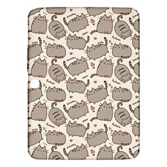 Pusheen Wallpaper Computer Everyday Cute Pusheen Samsung Galaxy Tab 3 (10 1 ) P5200 Hardshell Case