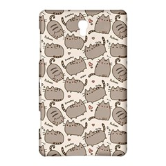 Pusheen Wallpaper Computer Everyday Cute Pusheen Samsung Galaxy Tab S (8 4 ) Hardshell Case