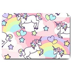 Unicorn Rainbow Large Doormat
