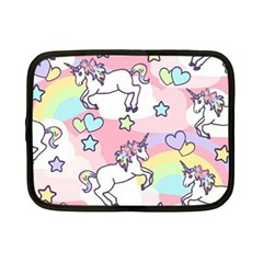 Unicorn Rainbow Netbook Case (small)