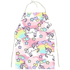 Unicorn Rainbow Full Print Aprons