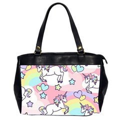 Unicorn Rainbow Office Handbags (2 Sides)