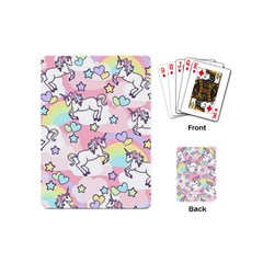 Unicorn Rainbow Playing Cards (Mini)