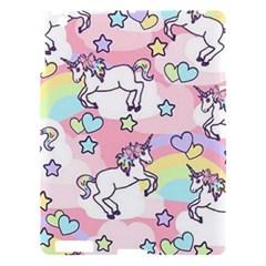 Unicorn Rainbow Apple Ipad 3/4 Hardshell Case