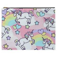 Unicorn Rainbow Cosmetic Bag (xxxl)