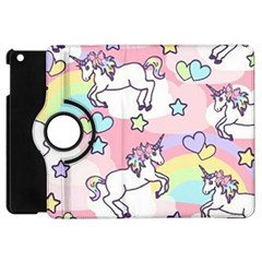 Unicorn Rainbow Apple Ipad Mini Flip 360 Case