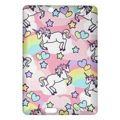 Unicorn Rainbow Amazon Kindle Fire HD (2013) Hardshell Case