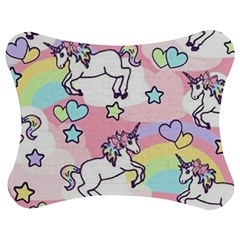 Unicorn Rainbow Jigsaw Puzzle Photo Stand (bow)
