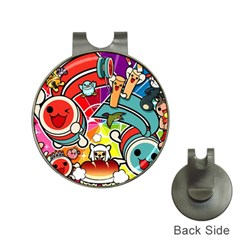 Cute Doodles Wallpaper Background Hat Clips With Golf Markers
