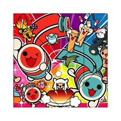 Cute Doodles Wallpaper Background Acrylic Tangram Puzzle (6  x 6 )
