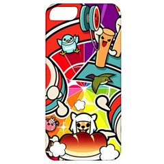 Cute Doodles Wallpaper Background Apple Iphone 5 Classic Hardshell Case
