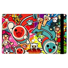 Cute Doodles Wallpaper Background Apple Ipad 3/4 Flip Case
