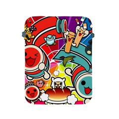 Cute Doodles Wallpaper Background Apple Ipad 2/3/4 Protective Soft Cases