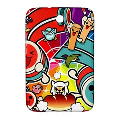 Cute Doodles Wallpaper Background Samsung Galaxy Note 8 0 N5100 Hardshell Case