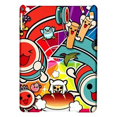 Cute Doodles Wallpaper Background iPad Air Hardshell Cases