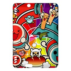 Cute Doodles Wallpaper Background Kindle Fire Hdx Hardshell Case