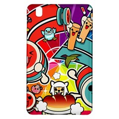 Cute Doodles Wallpaper Background Samsung Galaxy Tab Pro 8 4 Hardshell Case