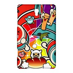 Cute Doodles Wallpaper Background Samsung Galaxy Tab S (8 4 ) Hardshell Case