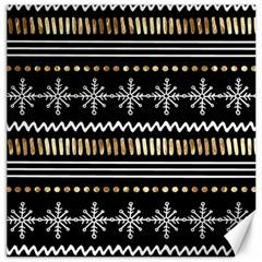 Kawaii Pattern Canvas 16  X 16