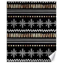 Kawaii Pattern Canvas 11  x 14