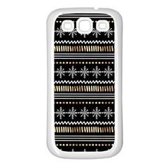 Kawaii Pattern Samsung Galaxy S3 Back Case (white)