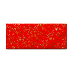 Golden Swrils Pattern Background Cosmetic Storage Cases